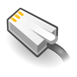Download free plug network icon