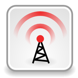 Download free wireless wifi antenna wave icon