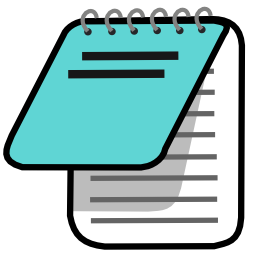 Download free text editor pad notes icon