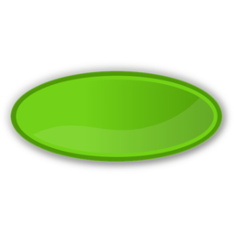 Download free green oval icon