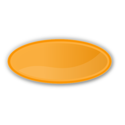 Download free orange oval icon
