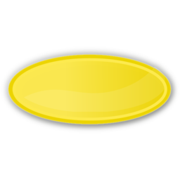 Download free yellow oval icon