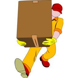 Download free human delivery-man icon