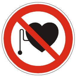 Download free heart red round pictogram health prohibited icon