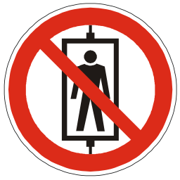Download free red round pictogram prohibited human transport icon