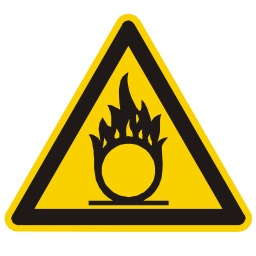 Download free alert triangle information flame attention icon