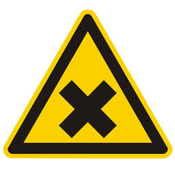 Download free cross black alert triangle information attention acid icon