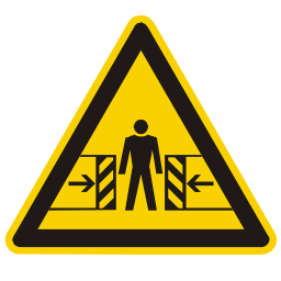 Download free alert triangle information human attention icon