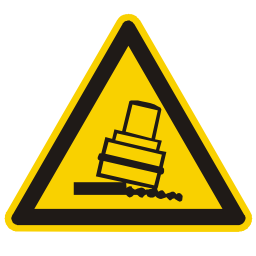 Download free fall alert triangle information attention icon