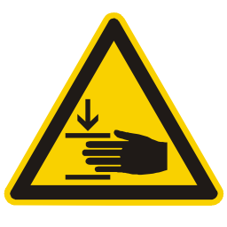 Download free hand alert triangle information attention icon