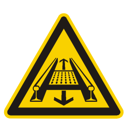 Download free alert triangle information attention rail icon