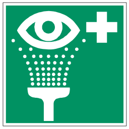Download free pictogram green health shower eye icon