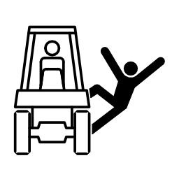 Download free pictogram fall human vehicle attention icon