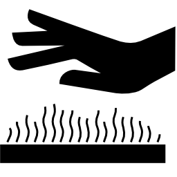 Download free pictogram hand temperature heat icon