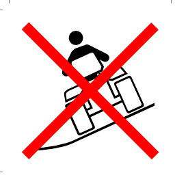 Download free pictogram fall human stop vehicle attention slope icon