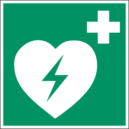 Download free pictogram green health defibrillator icon