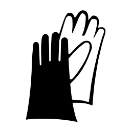 Download free pictogram hand glove icon