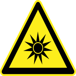 Download free pictogram triangle explosion risk icon