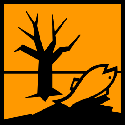 Download free orange fish pictogram square pollution tree risk icon