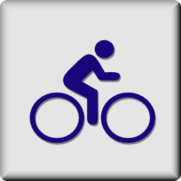 Download free human bike icon