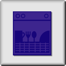 Download free food covered dishwasher icon