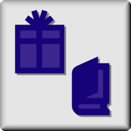 Download free book gift icon