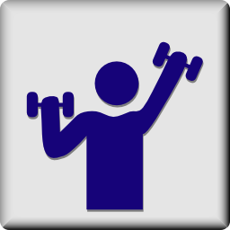 Download free human sport bodybuilding icon