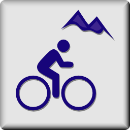 Download free human bike sport mountain icon